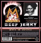 Marjorie's Beef Jerky Hot and Spicy